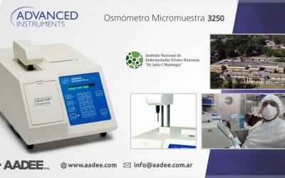 Validación del Osmómetro Advanced Instruments 3250