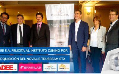 """Adquisición del """"Novalis TrueBeam STx"""" por el Instituto Zunino (Córdoba)"""