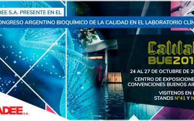X Congreso Argentino Bioquímico de la calidad en el Laboratorio Clínico (CALILAB)