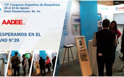 73º Congreso Argentino de Bioquímica 2019