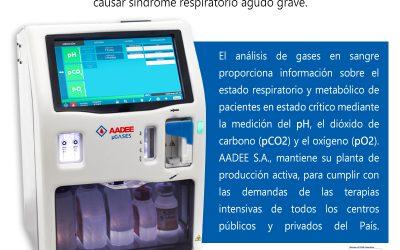 COVID 19 – Síndrome respiratorio agudo grave – Análisis de gases en Sangre
