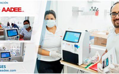 Instalación de nuestro Analizador de PH y Gases en sangre en el Hospital Dr. Eurnekian de Ezeiza