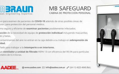 MB-SAFEGUARD – Cabina de Protección personal
